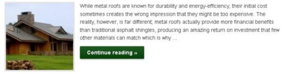 The Financial Benefits of Choosing a Metal Roof - Click to Read More