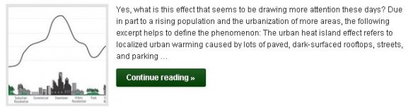 "What is this whole ""urban heat island"" effect? - Click to Read More"