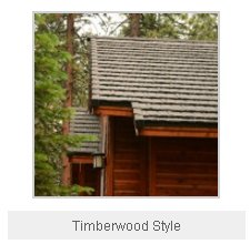 Timberwood Style Metal Roof