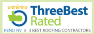 Trhee Besst Rated Roofing Contractor