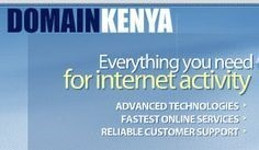Register Domain Kenya