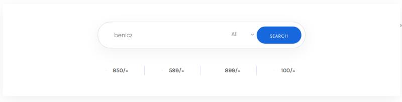 Truehost Domain Search