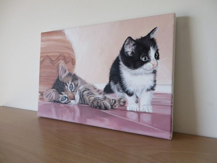 cats painting
