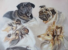 dogs sketch