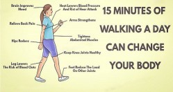 15 Minutes Of Walking A Day Can Change Your Body ! – Uplifting Stream