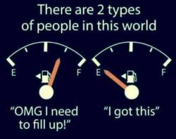 Which one are you? :)
