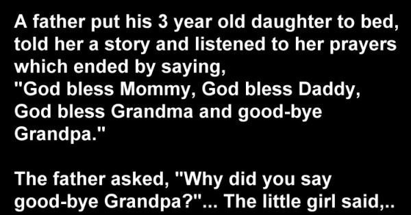 Hilarious Joke: 3 Year Old Daughter's Nighttime Prayers
