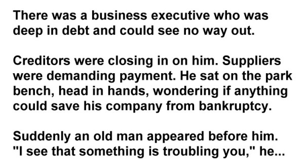 He Was About To Lose His Company To Bankruptcy. But What Happened Next Is Amazing