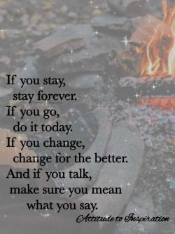 If you …