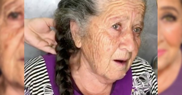This Grandmother Reluctantly Allowed Her Granddaughter to Give Her A Makeover, And The Result is ...