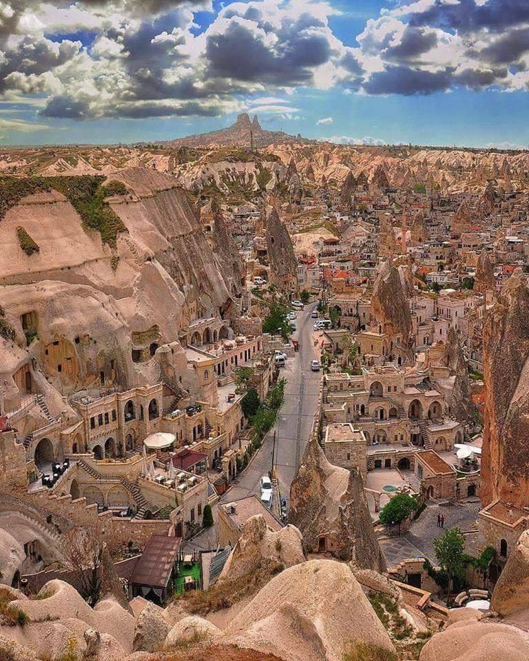 WOW!! Cappadocia, Turkey.