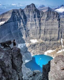 Would you dare? Mount Wilbur, Montana.