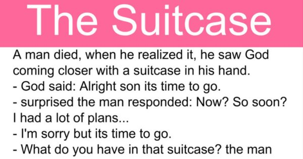 The Suitcase – Short Inspirational Story