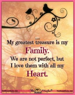 I love my family with all my heart.  The Horse Mafia®  Cowgirl Charity and The Horse Mafia®