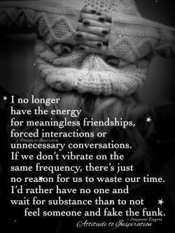 I no longer have the energy …