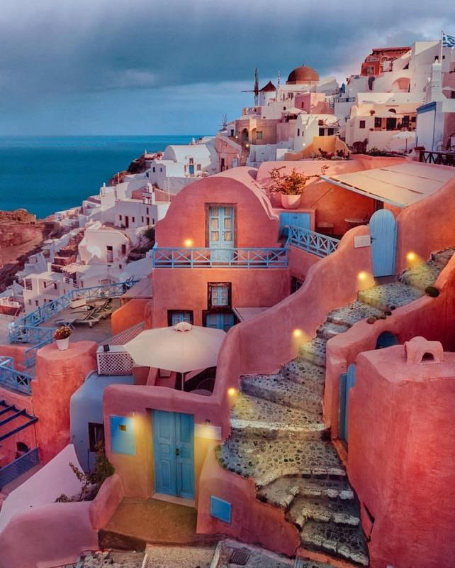 Santorini, Greece  by