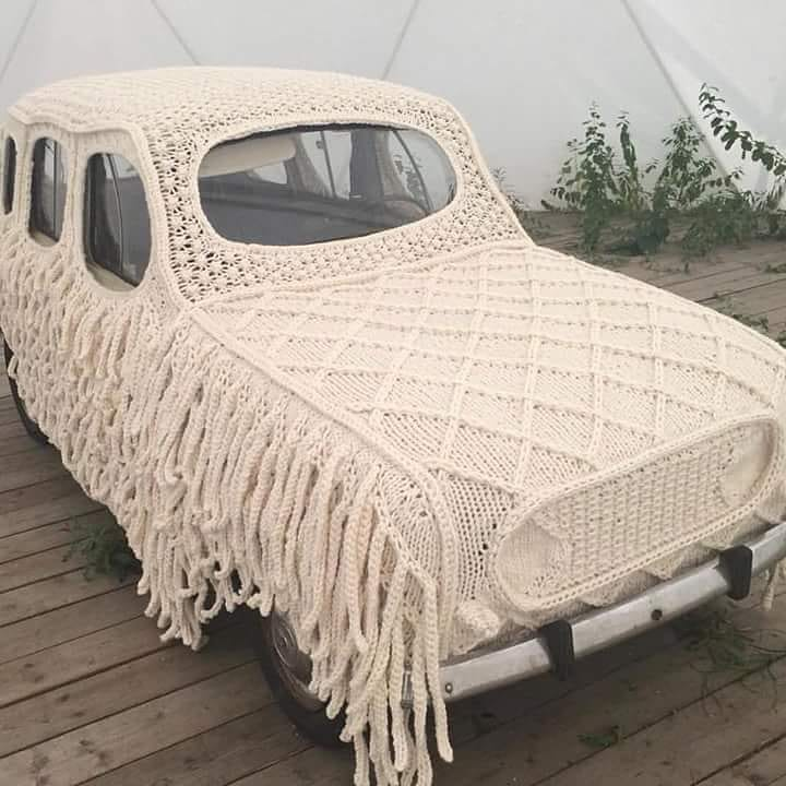 When you leave the car at grandma's house for the summer