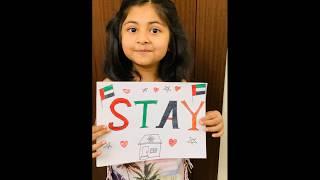 Beautiful message for COVID19 lockdown by Deyana. A true inspiration.
