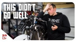 Realizing HOW NOT to take a motorcycle apart!  [Wrecked Bike Rebuild – S2 – Ep 14 &# ...