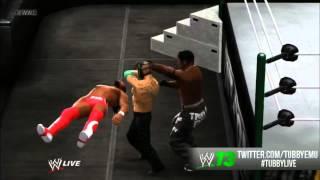 WWE 13 – GLITCH!  R.I.P Kofi Kingston/R-Truth!!! (TABLE GLITCH)