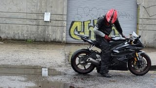 Yamaha R6 Wheelspin / Burnout + Twixtor