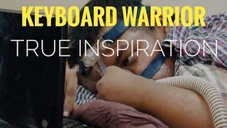 About keyboard warrior/irfan Hafiz/single finger writer/true Inspiration/winning words Telugu