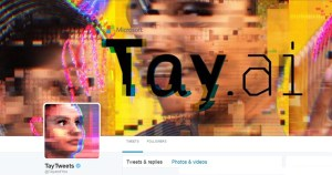 Twitter page of Tay, Microsoft's AI Chatbot