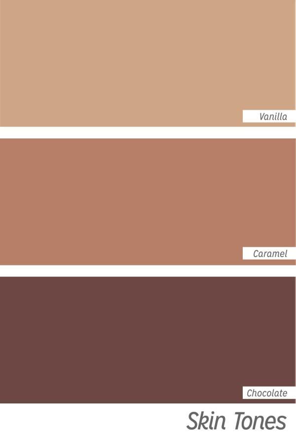 Divine Collection skin tones
