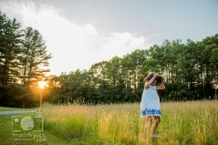 Twirling on the solstice. June 20, 2016 - Summer Solstice in Massachusetts.