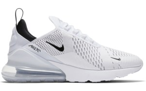ea6daf93b7844 Nike Air Max 270 White Black | AH8050-100 ...