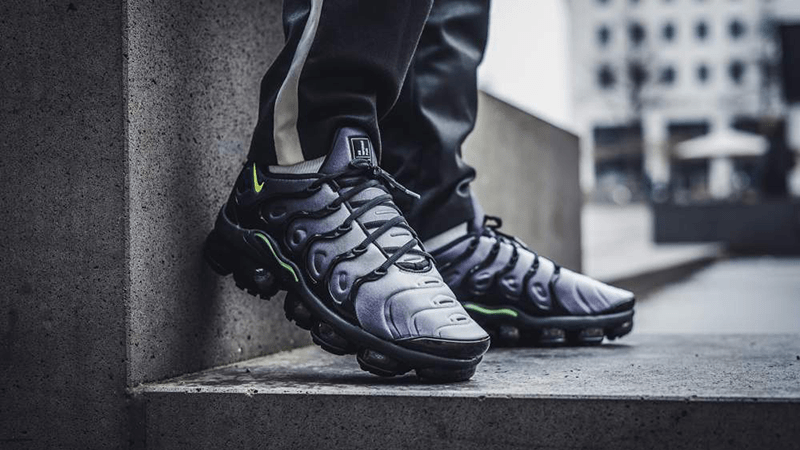 5b0a065b09a Nike Air VaporMax Plus Black Volt
