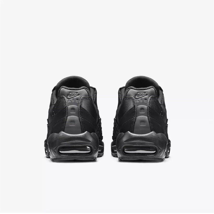 19a3f287d05 Nike Air Max 95 All Black 749766-009 - True Looks