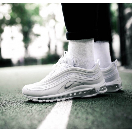 6fa9e846fc7 Nike Air VaporMax 97 Triple White| 921826-101