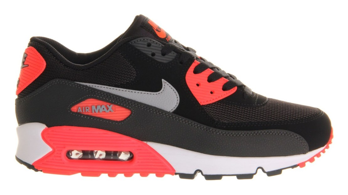 quality design fd482 72d77 NIKE AIR MAX 90 ESSENTIAL(BLACK / WOLF GREY - ATOMIC RED - ANTHRACITE)  537384-006