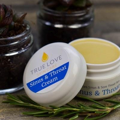 True Love Skin Care Sinus & Throat Cream