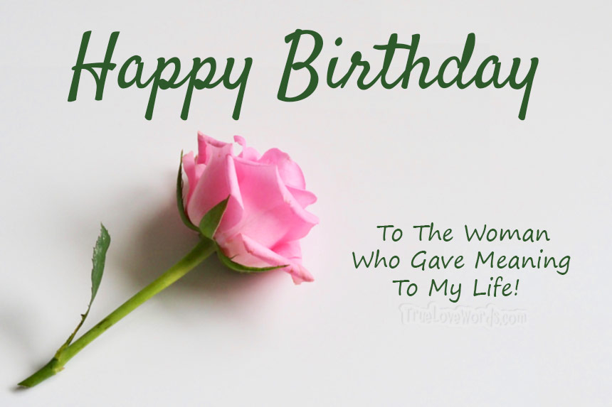 The 50 Cutest Birthday Wishes For Wife True Love Words