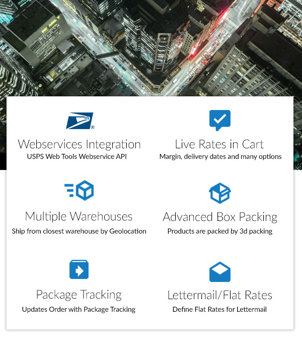 US Postal Service USPS Woocommerce Shipping Plugin 2