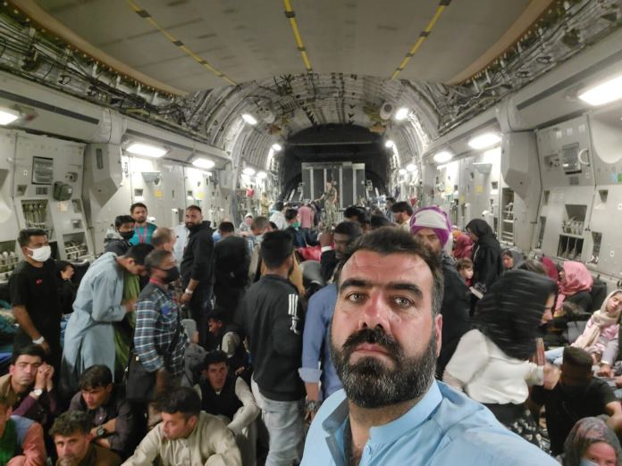 'Just dads reaching across the globe' – How an Afghan interpreter and his family escaped the Taliban in Kabul