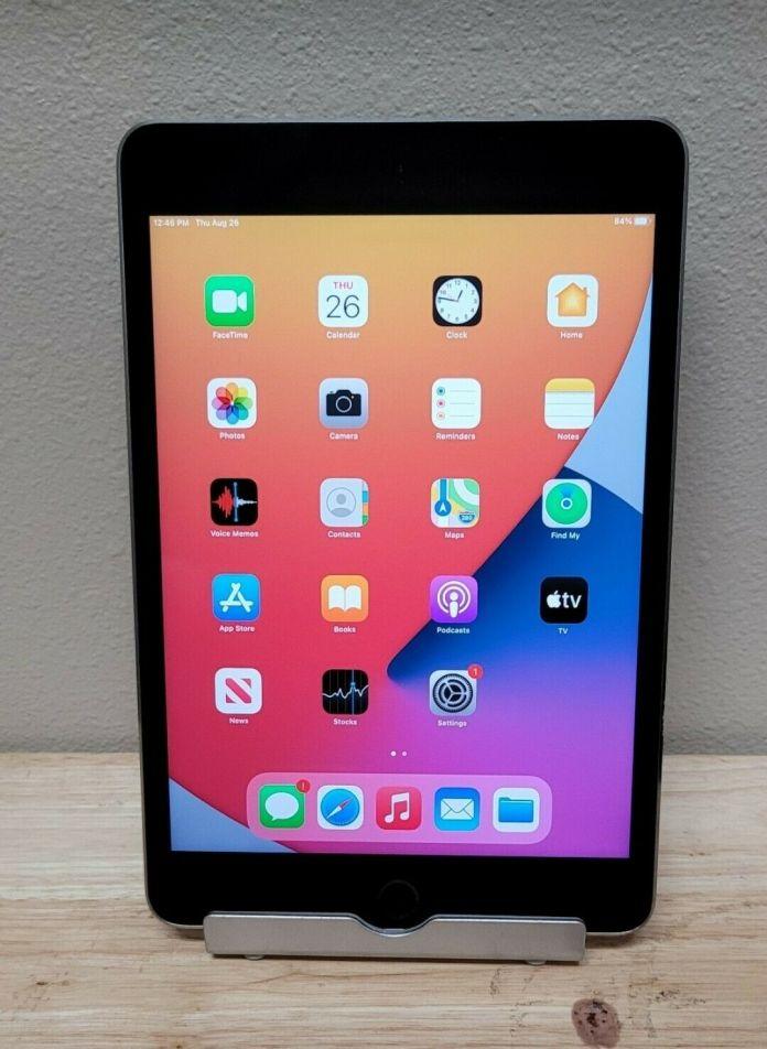 Apple iPad mini 4 16GB, Wi-Fi, 7.9in – Space Gray