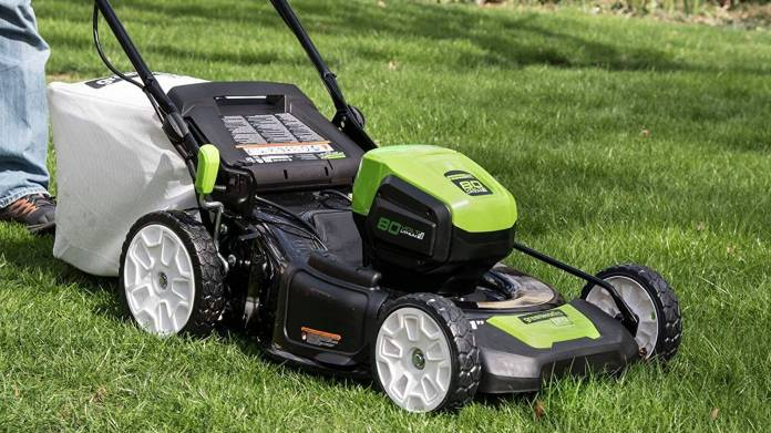 Amazon's new Greenworks electric mower deal is almost too good to be true