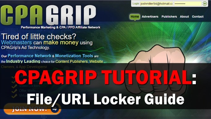 CPAGrip File Url Locker Tutorial