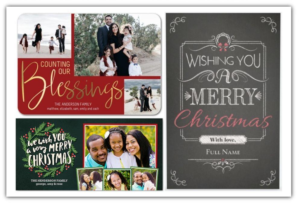 Christmas Cards Deals 2016