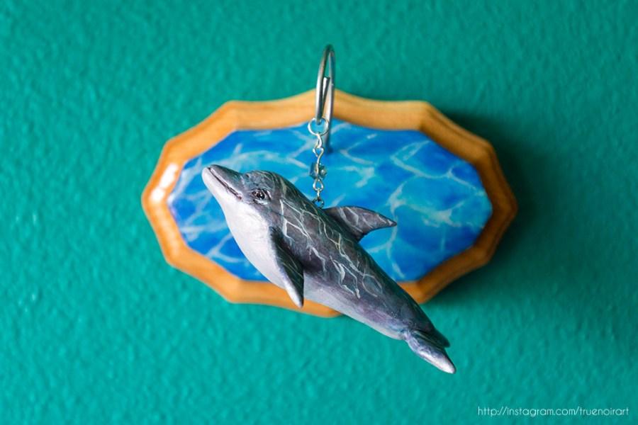 Dolphin figurine by Oksana Ossipov