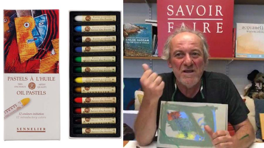 Oil Pastels: Live Video by Savoir-Faire