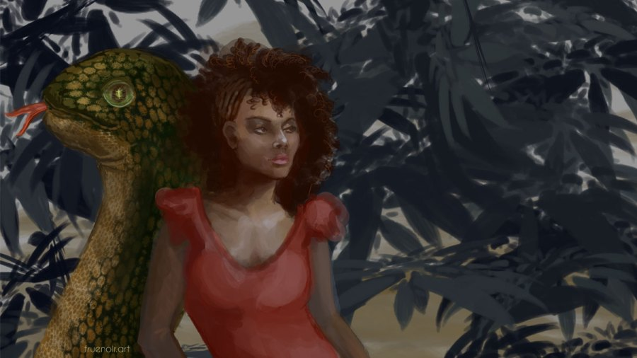 Garden of Eve – Digital Painting