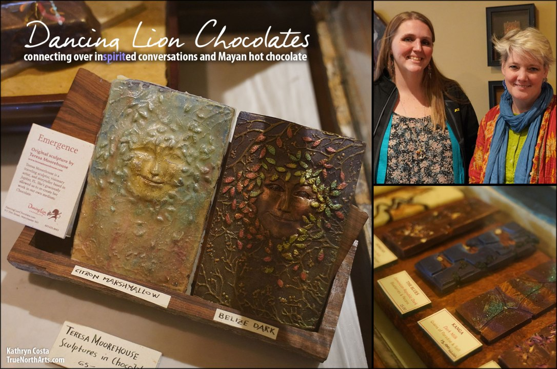 Dancing Lion Chocolates -The perfect place for savoring hand crafted chocolates, drinking Mayan hot chocolate, and inspirited conversations.