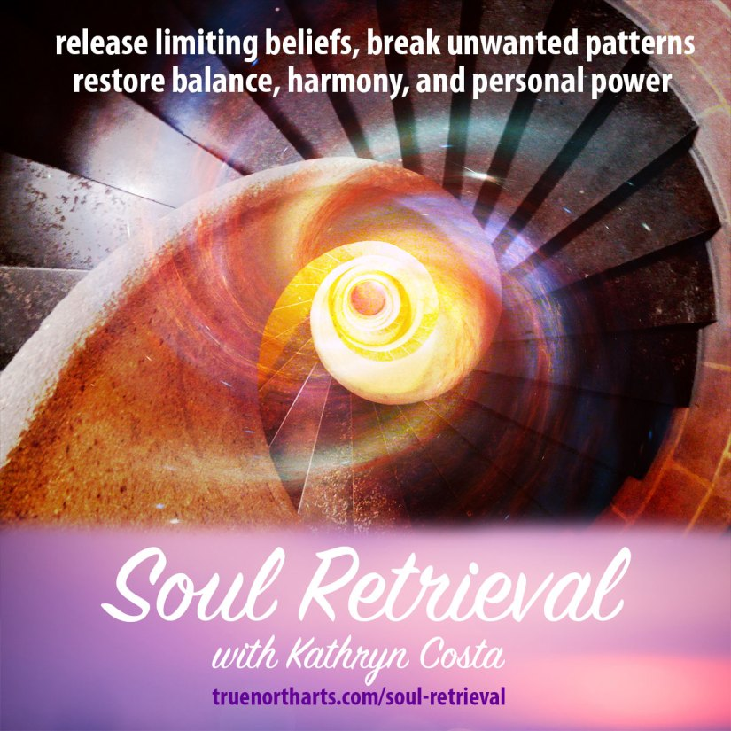 Soul Retrieval - Release the limiting beliefs, break unwanted patterns, restore balance, harmony, and personal power.