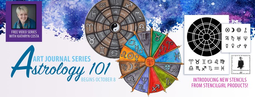Astrology 101 Art Journal Video Series