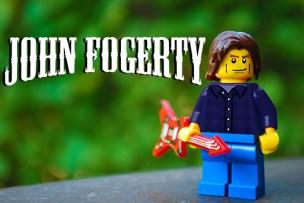 John Fogerty tour poster LEGO-fied