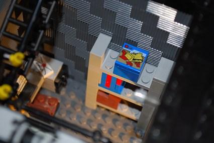 MOC LEGO Store overstock shelf.
